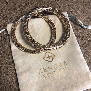 Kendra Scott Gold bracelets